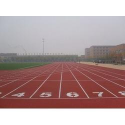 高陵塑胶跑道铺设-塑胶跑道铺设-西安微星体育图片