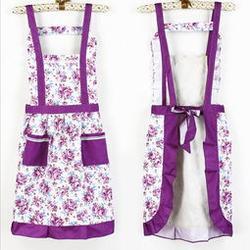 棉布围裙定做厂家、锦衣服装加工厂(在线咨询)、黄村镇围裙定做图片