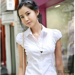 白衬衫定做厂家、天津市衬衫定做、锦衣生产厂图片