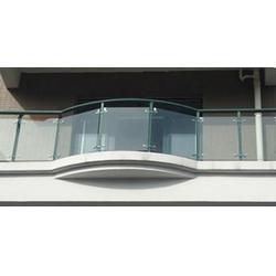 阳台玻璃护栏、西安玻璃护栏(在线咨询)、延安玻璃护栏图片