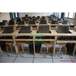 双人翻转电脑桌 学生电脑翻转桌图片