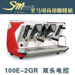 La San Marco 100E双头电控商用半自动咖啡机图片