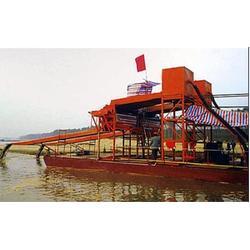 射流式吸沙船-力沃矿沙重工设备(已认证)吸沙船图片