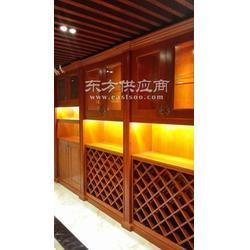 实木酒柜、恒温恒湿酒窖、红葡萄酒架图片