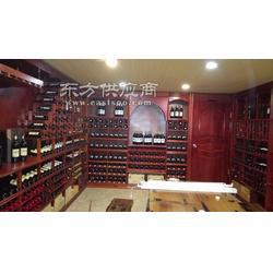 订制恒温恒酒窖、实木酒柜酒架设计制作图片