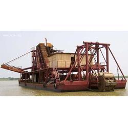 淘金船-力沃矿沙重工设备-山东青州淘金船图片