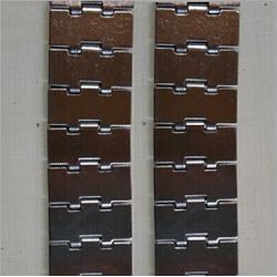 张家港链板|恒运网链|不锈钢挡板式链板图片