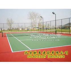 网球场工程施工,网球场灯光安装,网球场围网安装图片