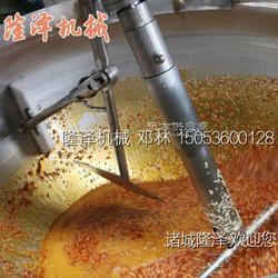 黄灯笼辣椒酱炒锅 全自动炒酱机图片