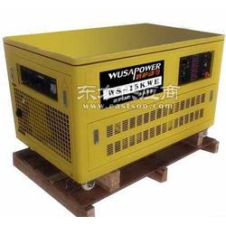 15KW燃气发电机静音燃气发电机图片