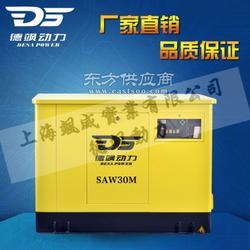 自动启动30千瓦汽油发电机组图片
