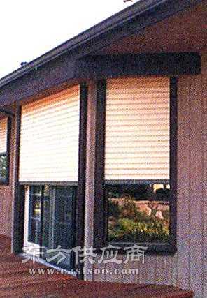 室外遮阳窗 工厂窗户遮阳 铝合金外遮阳卷帘图片