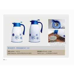 优质PP材料,双层真空玻璃内胆 青花320与330,1.0L-1.3L图片