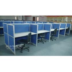 隔断组合办公桌 铝合金工位屏风桌图片