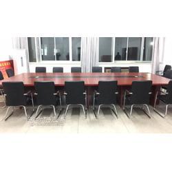 加长加大尺寸的会议桌 板式办公会议桌图片
