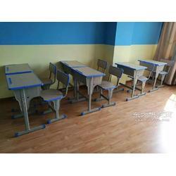 補習班學生桌 培訓班課桌椅 學校教具圖片