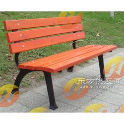 泸州街道广场休闲靠背座椅实木休闲椅图片