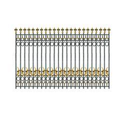围栏、铸造铁艺围栏、双建铁艺(认证商家)图片