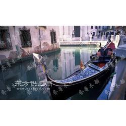 供应异国情调贡多拉手划船 主题公园观光游玩船图片