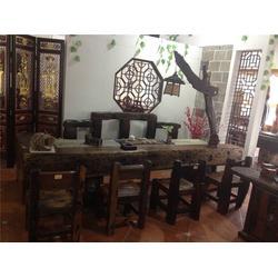 船印木作,南宁船木家具茶桌(图),自贡老船木茶桌,船木茶桌图片