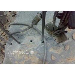混凝土基座矿用膨胀剂石头破碎图片