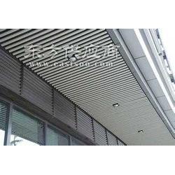 白色铝格栅天花吊顶厂家-工程铝格栅图片