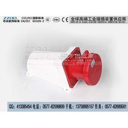 工业明装插座134 4P/63A图片