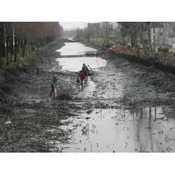 竹料抽泥浆淤泥、专业清理沙井河涌污水、抽泥浆淤泥图片