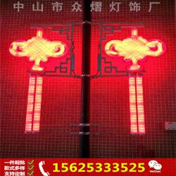 新款灯杆广告灯 箱制作LED道旗 灯箱生产厂家图片