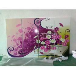 木板上的画,怎么印上去的图片