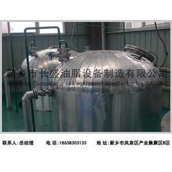 贵阳茶油精炼设备厂家、长盛油脂设备图片