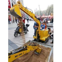 合丰、儿童挖土机、儿童挖土机工作视频图片