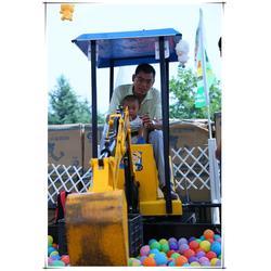儿童挖掘机-广州儿童挖掘机表演-合丰图片