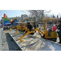 合丰 儿童挖掘机 玩具车可坐可骑挖土-儿童挖掘机图片