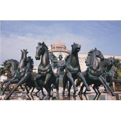 两米铜马雕塑、梧州市两米铜马雕塑、广聚德铜雕图片