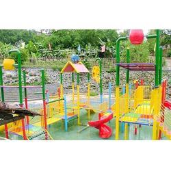 水上乐园设备儿童水屋厂家图片
