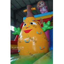供应儿童充气城堡游乐园,厂家直销,赚钱好富衡玩具厂图片