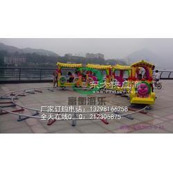 广场上摆孩子玩的小火车咋样 电瓶电柜小火车 儿童电动小火车都有几座的图片