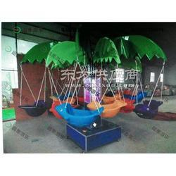 暑期特价12座椰子树飞鱼 儿童电动秋千鱼 热卖儿童旋转秋千鱼玩具图片