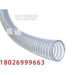 代替PVC的PU钢丝软管生产工厂高温高压食品级软管图片