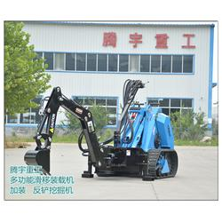 滑移装载机、腾宇重工、滑移装载机供应商图片