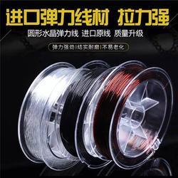 水晶线、升力饰品线制造商、韩国TPU水晶线图片