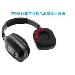 红外线耳机、红外线耳机、艾本耳机图片