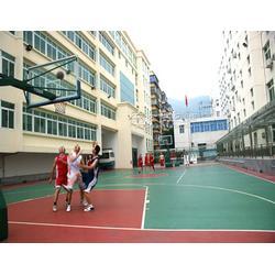 球场地面材料 丙烯酸球场材料 学校球场地面材料 球场地面材料报价图片