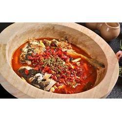 长沙蒸汽草帽石锅鱼,石器食代,蒸汽草帽石锅鱼图片