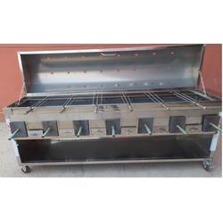 烤羊腿炉|博兴雅康|无烟烤羊腿炉子图片