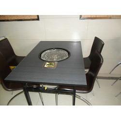 博兴雅康(图)|多功能无烟烧烤桌|无烟烧烤桌图片