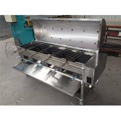 无烟烤羊腿炉子、博兴雅康(在线咨询)、兴安盟烤羊腿炉图片