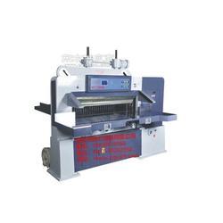 国力1300c机械数显切纸机对开切纸机图片