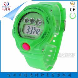 儿童电子手表定制工厂 多功能运动手表定制 硅胶运动手表厂家 手表贴牌生产图片
